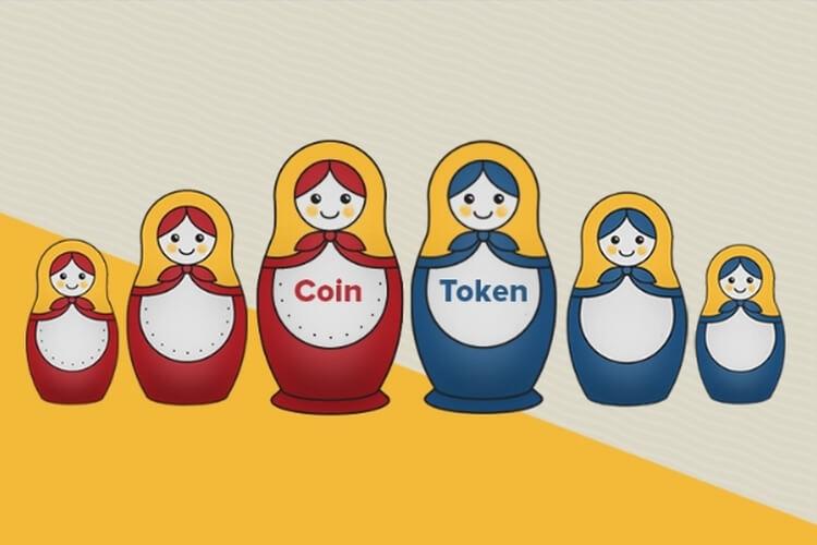 Отличия койнов и токенов криптовалют